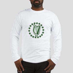 Irish Harp Long Sleeve T-Shirt