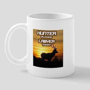 """""""Hunter Playing Lawyer"""" Mug"""