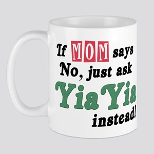 Just Ask YiaYia! Mug