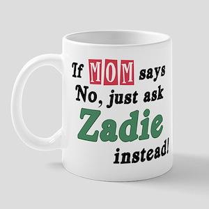 Just Ask Zadie! Mug
