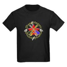 Make Music Kids Dark T-Shirt