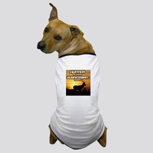 """Hunter Playing Businessman Today"" Dog T-Shirt"