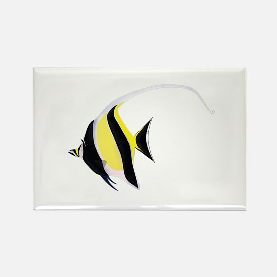Moorish Idol Rectangle Magnet