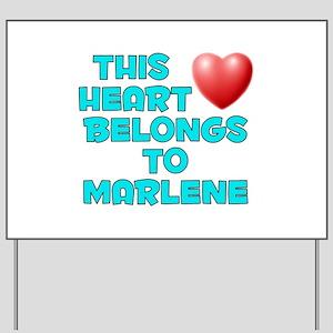 This Heart: Marlene (E) Yard Sign