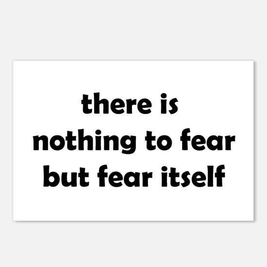 Nothing to Fear Postcards (Package of 8)