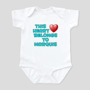 This Heart: Marquis (E) Infant Bodysuit