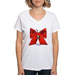 Dont Open Til ______ Women's V-Neck T-Shirt