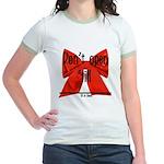 Dont Open Til ______ Jr. Ringer T-Shirt