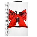 Dont Open Til ______ Journal