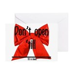 Dont Open Til ______ Greeting Cards (Pk of 10)