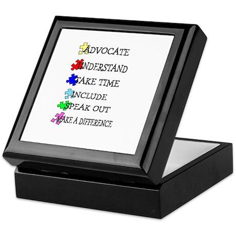 Advocate, Understand, Make a Keepsake Box