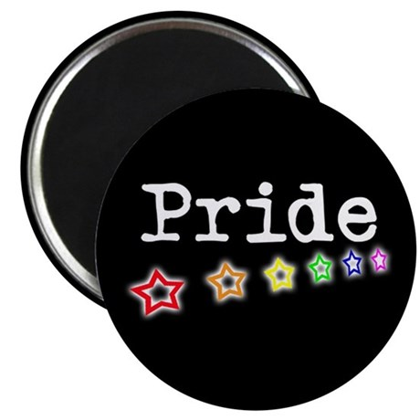 "Pride Stars 2.25"" Magnet (100 pack)"