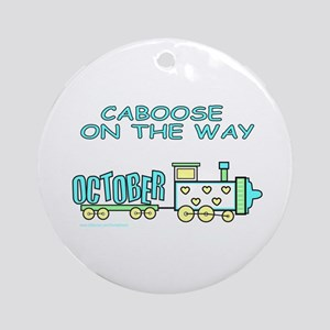 DUE IN OCTOBER Ornament (Round)