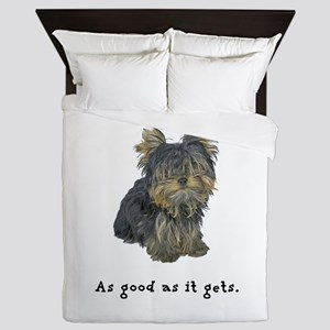 Good Yorkie Queen Duvet