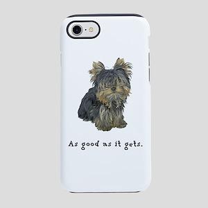 Good Yorkie iPhone 8/7 Tough Case