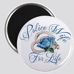 Police Wife For Life Magnet