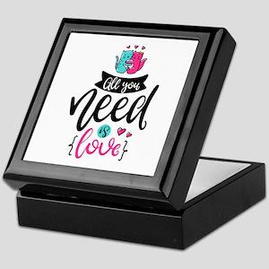 All You Need Is Love Keepsake Box
