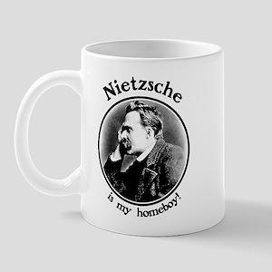 Nietzsche is my homeboy! Mug