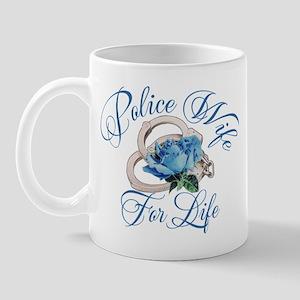 Police Wife For Life Mug