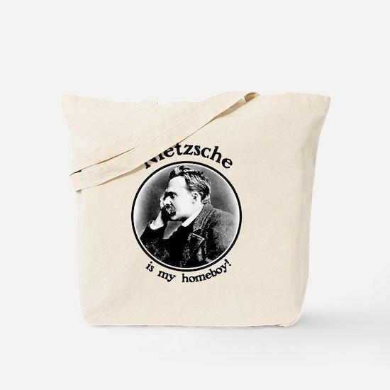 Nietzsche is my homeboy! Tote Bag