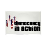 Democracy in Action Rectangle Magnet (10 pack)