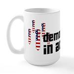 Democracy in Action Large Mug