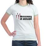 Democracy in Action Jr. Ringer T-Shirt