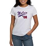McCain '08 Swoosh Women's T-Shirt
