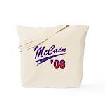 McCain '08 Swoosh Tote Bag