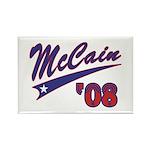 McCain '08 Swoosh Rectangle Magnet (100 pack)