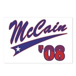 McCain '08 Swoosh Postcards (Package of 8)