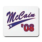 McCain '08 Swoosh Mousepad