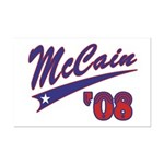 McCain '08 Swoosh Mini Poster Print