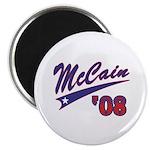 McCain '08 Swoosh Magnet
