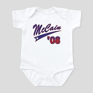 McCain '08 Swoosh Infant Bodysuit