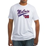 McCain '08 Swoosh Fitted T-Shirt
