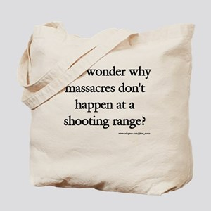 Guns & Massacres Tote Bag