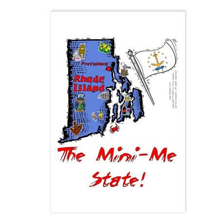 RI-Mini-Me! Postcards (Package of 8)