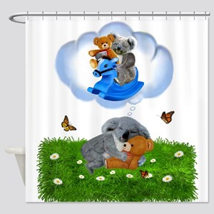 BABY KOALA DREAMS Shower Curtain