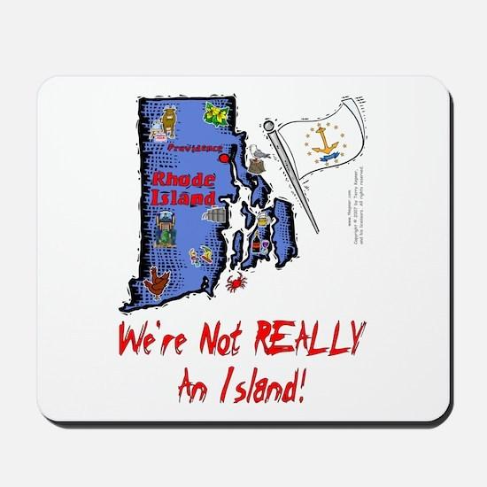 RI-Island! Mousepad