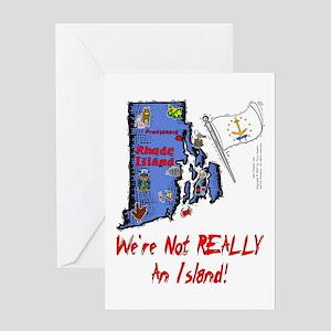 RI-Island! Greeting Card