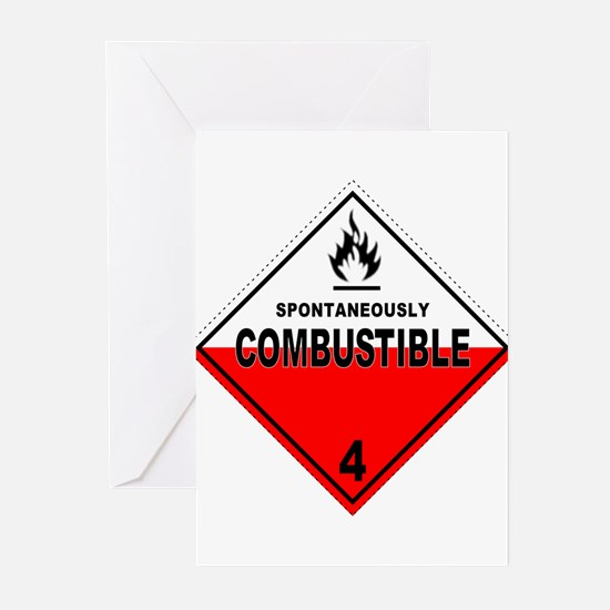 Spontaneously Combustible Greeting Cards (Pk of 10
