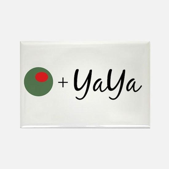Olive YaYa Rectangle Magnet