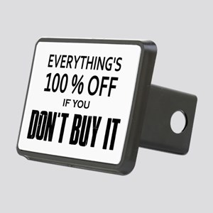 Everything's 100% Off Rectangular Hitch Cover