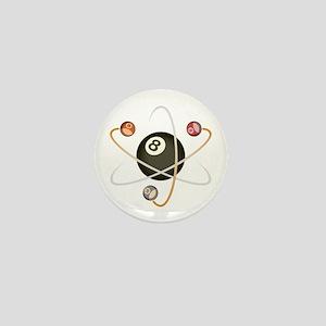 Billiard Atom Mini Button
