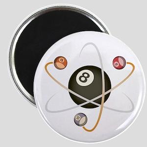 Billiard Atom Magnet