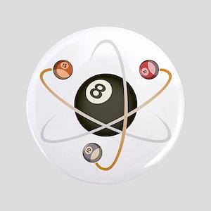 "Billiard Atom 3.5"" Button"