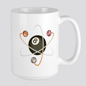 Billiard Atom Large Mug