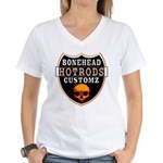 BHC HOTRODS Women's V-Neck T-Shirt