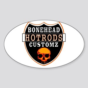 BHC HOTRODS Oval Sticker